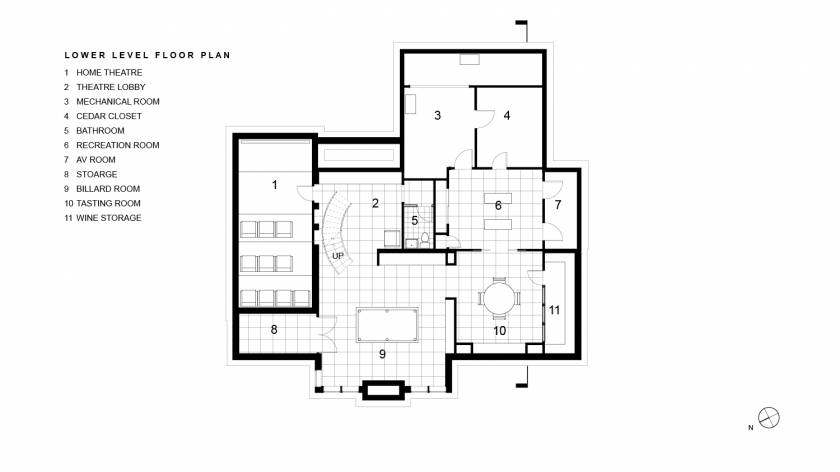 Loughnane Lower Level Floor Plan
