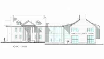 Milford Community House South Elevation
