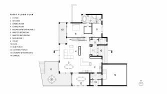 Khabensky First Floor Plan