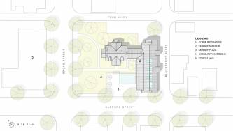 Milford Community House Site Plan