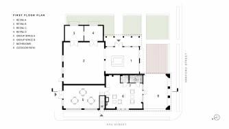 Brooks First Floor Plan