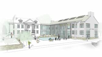Milford Community House Addition Design Study Rendering