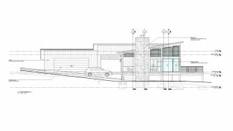 RPA Choi Residence West Elevation 012120