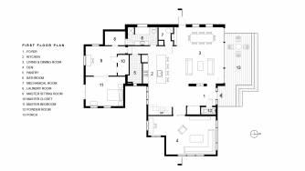 Gilbert First Floor Plan