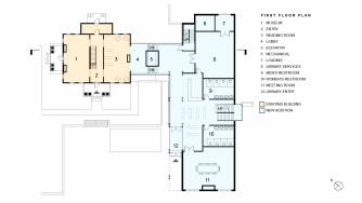 Milford Community House First Floor Plan