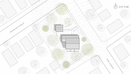 Scranton Passive House Site Plan